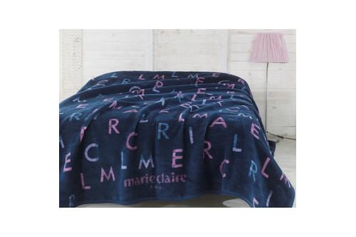 Плед - покрывало Marie Claire - Joy  lacivert 150*200