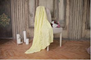 Плед детский - OTM-Design Сердечко, Желтый