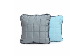 Подушка декоративна Дует, Сіро-Блакитний, 40x40