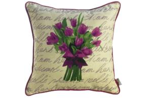 Подушка декоративная  Время тюльпанов