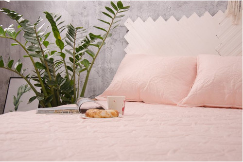 Покрывало Point-Art - Basic  розовый, 100% микрофибра, размер евро