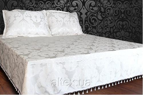 Покрывало-дивандек + наволочки, ткань шенилл Д01, размер 230x240, 50х70 см
