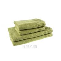 Полотенце махровое, цвет Фисташковый, плотность 400, размер 70х140 см