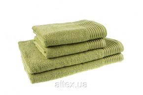 Полотенце махровое, цвет Фисташковый, плотность 400, размер 50х90 см