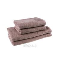 Полотенце махровое, цвет Капучино, плотность 400, размер 70х140 см
