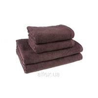 Полотенце махровое, цвет Шоколадный, 100% хлопок, плотность 500, размер 50х90 см