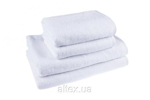 Полотенце махровое, цвет Белый, 100% хлопок, плотность 500, размер 50х90 см
