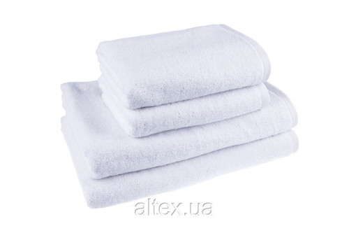 Полотенце махровое, цвет Белый, 100% хлопок, плотность 500, размер 70х140 см