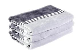 Набор велюровых полотенец 2 шт., 100% хлопок, плотность 400, размер 40х60 см