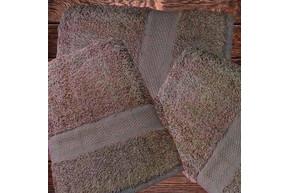Полотенце махровое,темно-бежевое, плотность 430, размер 50х90 см