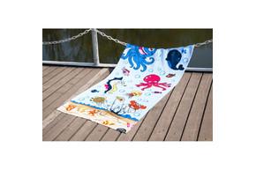 Полотенце Lotus пляжное - Sea World 75*150 велюр