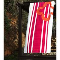 Полотенце пляжное Marie Claire - Belem pembe 75*150