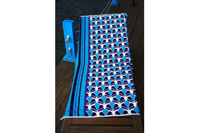 Полотенце пляжное Marie Claire - Petrolina голубой 75*150