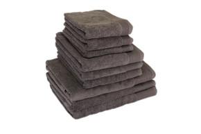 Полотенце махровое, Terry Lux Style 500 Gris Oskuro, 100% хлопок, плотность 500, размер 50х90 см