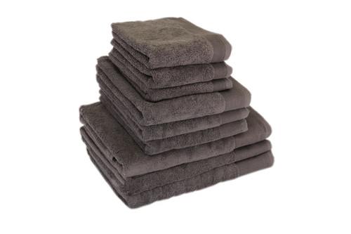 Полотенце махровое, Terry Lux Style 500 Gris Oskuro, 100% хлопок, плотность 500, размер 70х140 см