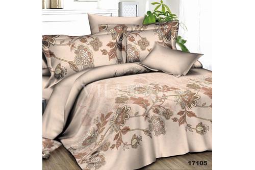 Комплект постельного белья Viluta Ранфорс 17105, 100% хлопок, размер полуторный