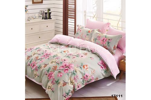 Комплект постельного белья Viluta Ранфорс 17111, 100% хлопок, размер евро