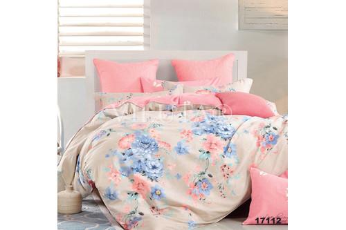 Комплект постельного белья Viluta Ранфорс 17112, 100% хлопок, размер полуторный