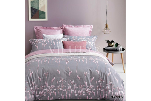 Комплект постельного белья Viluta Ранфорс 17116, размер евро