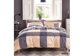 Комплект постельного белья Viluta Ранфорс 17118, 100% хлопок, размер полуторный