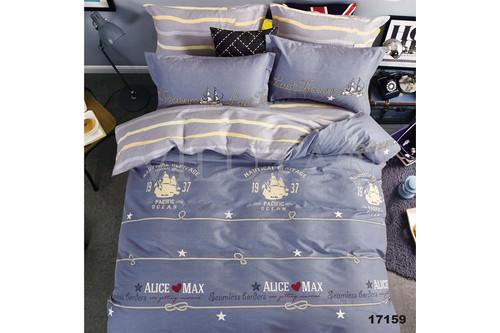 Комплект постельного белья Viluta Ранфорс 17159, 100% хлопок, размер евро