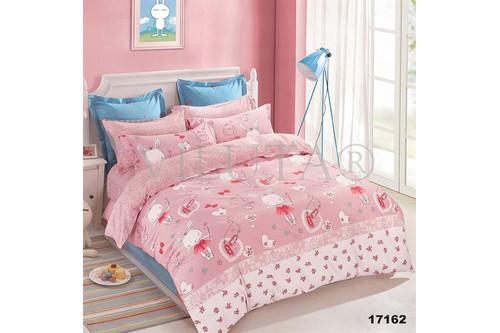 Комплект постельного белья Viluta Ранфорс 17162, 100% хлопок, размер подростковый