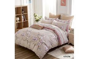 Комплект постельного белья Viluta Ранфорс 17174, размер евро