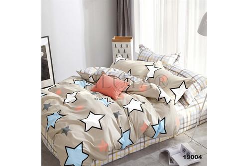 Комплект постельного белья Viluta Ранфорс 19004, 100% хлопок, размер двуспальный
