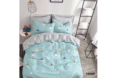 Комплект постельного белья Viluta Ранфорс 19005, 100% хлопок, размер двуспальный