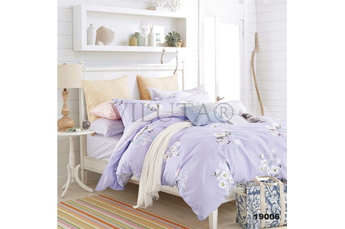 Комплект постельного белья Viluta Ранфорс 19006, 100% хлопок, размер двуспальный