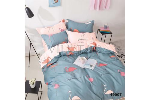 Комплект постельного белья Viluta Ранфорс 19007, 100% хлопок, размер двуспальный