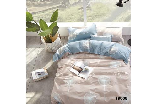 Комплект постельного белья Viluta Ранфорс 19008, 100% хлопок, размер двуспальный