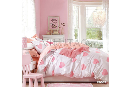 Комплект постельного белья Viluta Ранфорс 19009, 100% хлопок, размер двуспальный