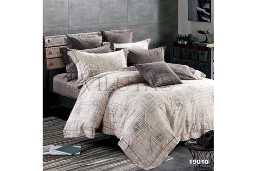 Комплект постельного белья Viluta Ранфорс 19010, 100% хлопок, размер двуспальный