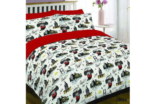 Комплект постельного белья Viluta Ранфорс 19022,  размер двуспальный