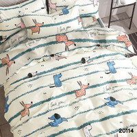 Комплект постельного белья Viluta Ранфорс 20114, 100% хлопок, размер подростковый