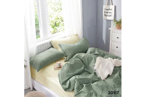 Комплект постельного белья Viluta Ранфорс 20117, размер полуторный