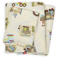 Комплект постельного белья Viluta Ранфорс 21123 бежевый, размер детский