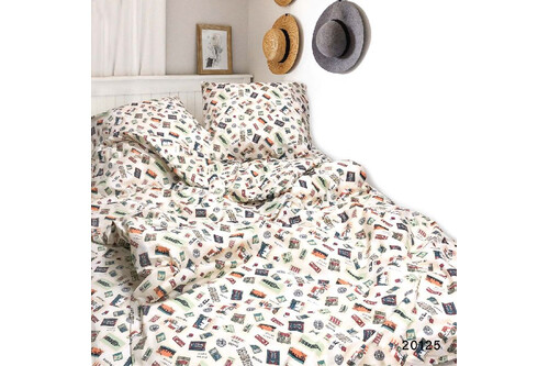 Комплект постельного белья Viluta Ранфорс 20125,  размер двуспальный