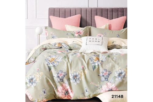 Комплект постельного белья Viluta Ранфорс 21148, размер евро