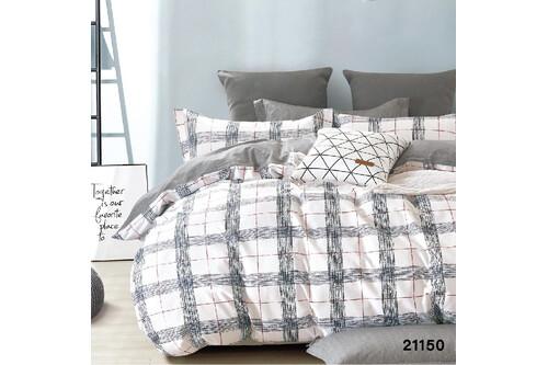 Комплект постельного белья Viluta Ранфорс 21150, размер евро