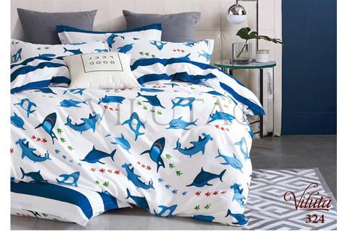 Комплект постельного белья Viluta Сатин-Твил 324, 100% хлопок, размер подростковый 50х70