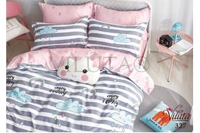 Комплект постельного белья Viluta Сатин-Твил 327, 100% хлопок, размер подростковый 50х70