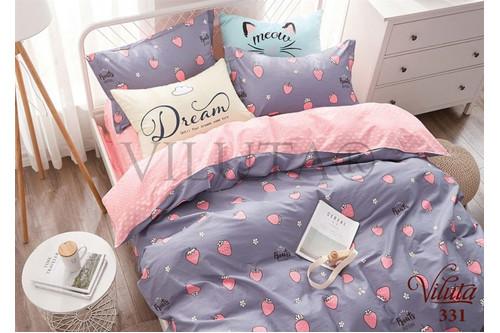 Комплект постельного белья Viluta Сатин-Твил 331, 100% хлопок, размер подростковый 50х70