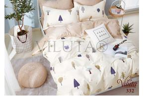 Комплект постельного белья Viluta Сатин-Твил 332, 100% хлопок, размер подростковый 50х70