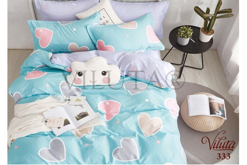 Комплект постельного белья Viluta Сатин-Твил 333, 100% хлопок, размер подростковый 50х70