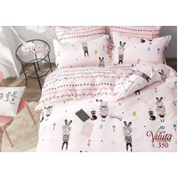 Комплект постельного белья Viluta Сатин-Твил 350, подростковый