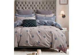 Комплект постельного белья Viluta Сатин Твил 431, 100% хлопок, размер евро