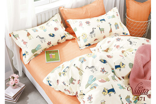 Комплект постельного белья Viluta Сатин-Твил 471, подростковый