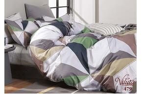 Комплект постельного белья Viluta Сатин Твил 479, 100% хлопок, размер евро